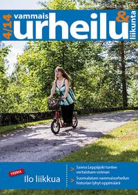 Vuoden neljäs Vammaisurheilu & -liikunta -lehti on täällä.