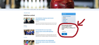 Nyt voit tilata itseäsi kiinnostavat uutiset VAU:n sivuilta suoraan sähköpostiisi.