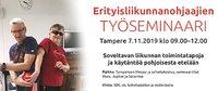Erityisliikunnanohjaajien työseminaariin Tampereelle mahtuu mukaan ja ehtii vielä ilmoittautua.